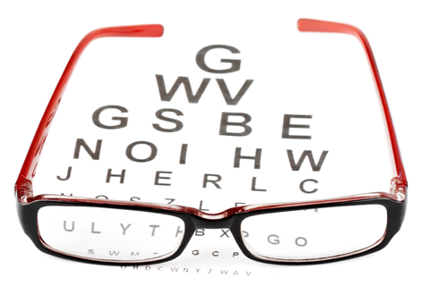 http://www.dreamstime.com/stock-image-reading-glasses-eye-chart-image22973801