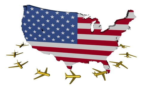 http://www.dreamstime.com/stock-photos-planes-flying-around-usa-map-flag-image17630723