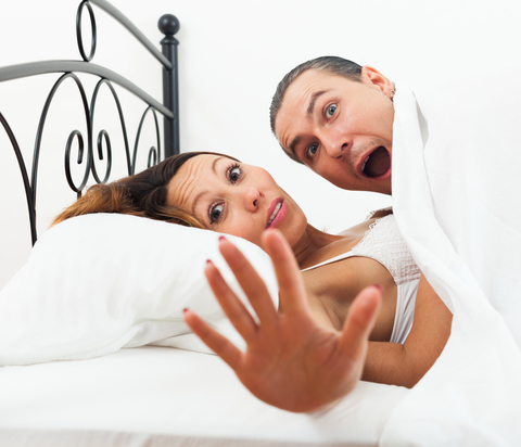 http://www.dreamstime.com/stock-photography-lovers-caught-bed-adult-image39936042